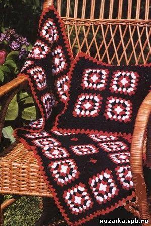 вязание подушек