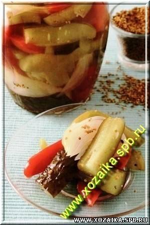 Огурцы бостон рецепт